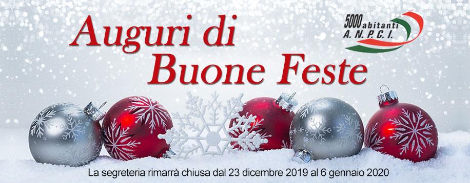 Auguri Buone Feste 2019-2020