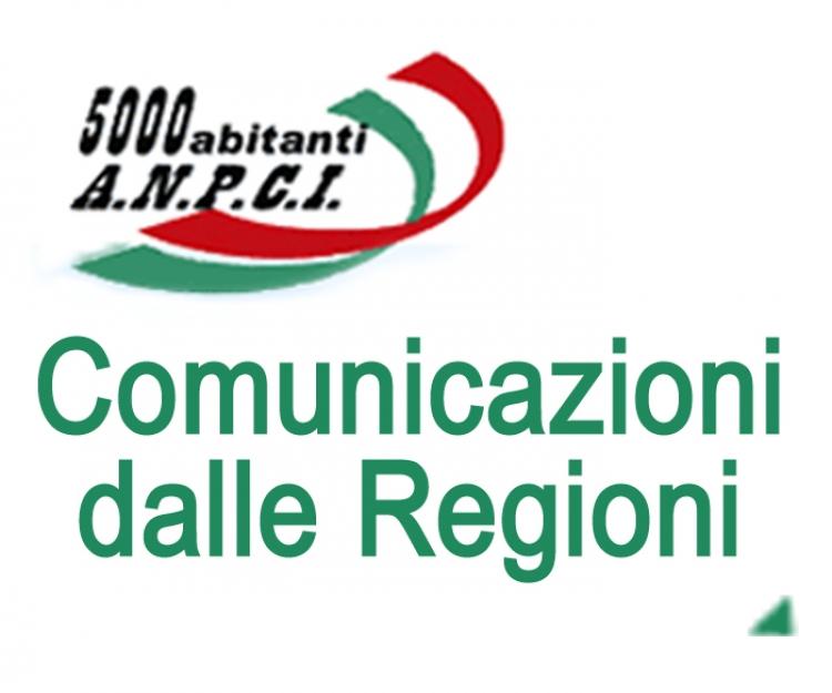 Comunicazioni dalle regioni