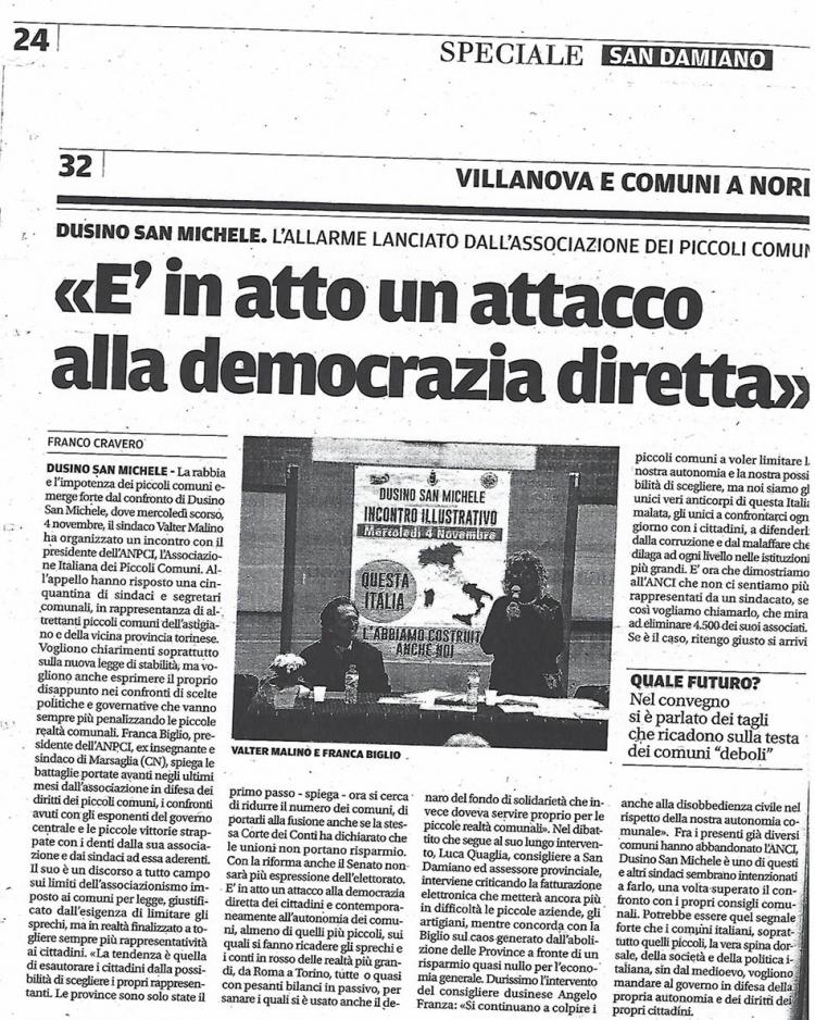 Attacco alla democrazia