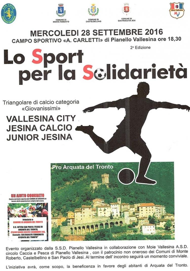 Lo sport per la solidarietà